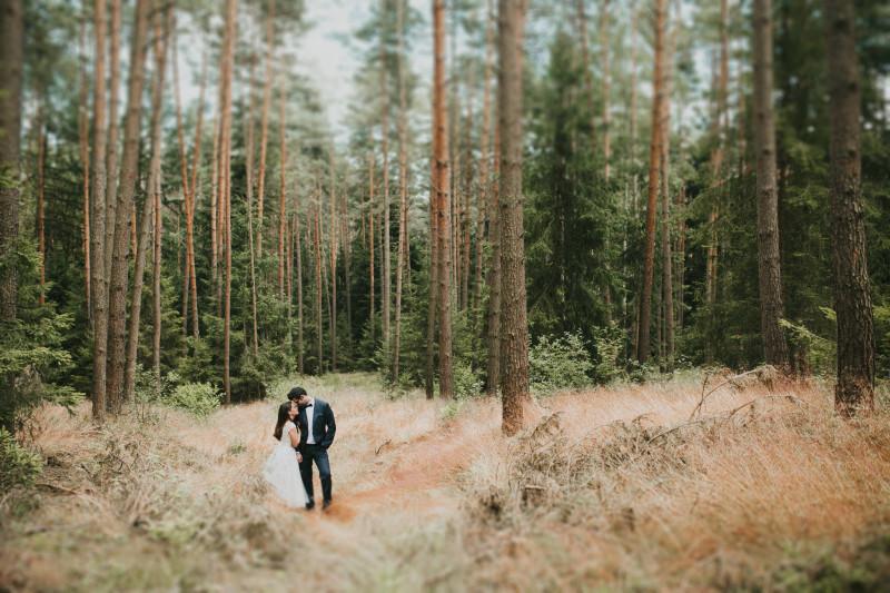 Hochzeitsfotograf Muenchen Hochzeit im Wald