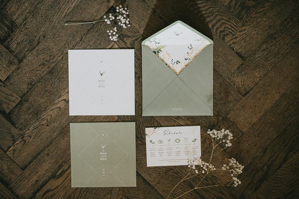 Papeterie Hochzeit im A-Rosa Kitzbühel