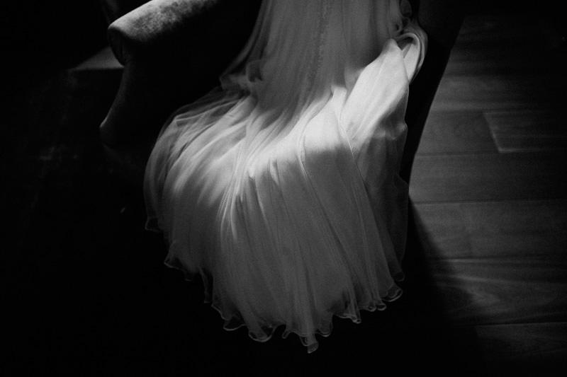 Hochzeit im Weingut am Nil Brautkleid