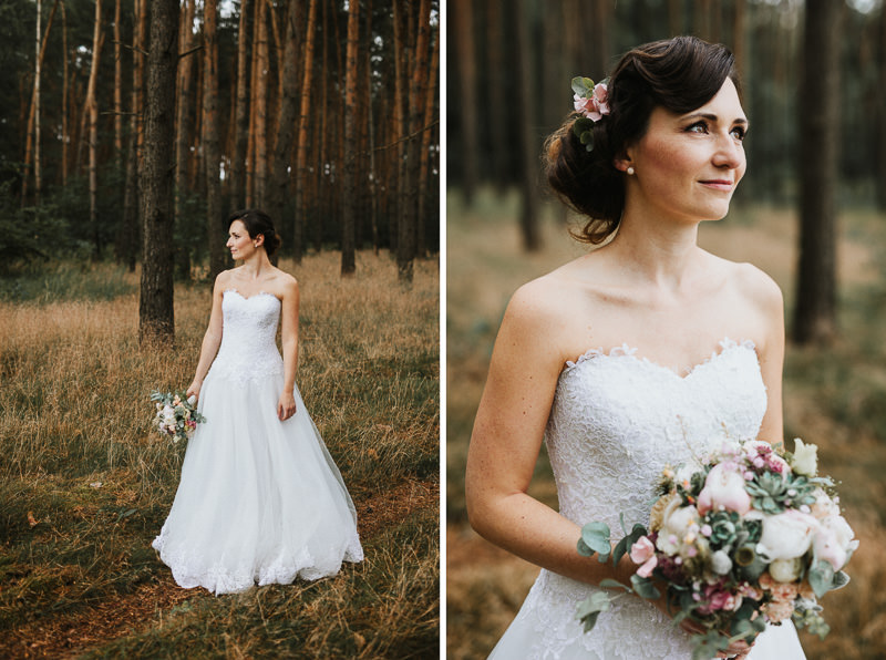 50ies Brautstyling Hochzeitsfotograf Berlin Schloss Ziethen