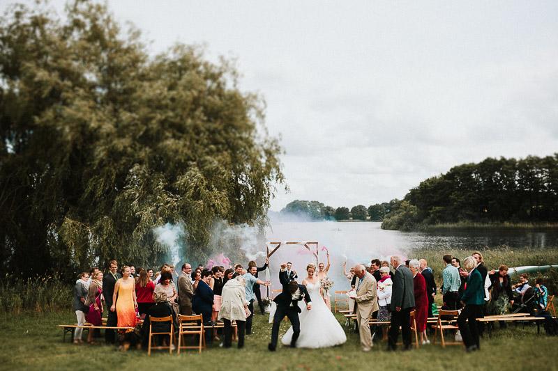 Freie Trauung Hochzeit bei Kiel Hamburg Hof Brache