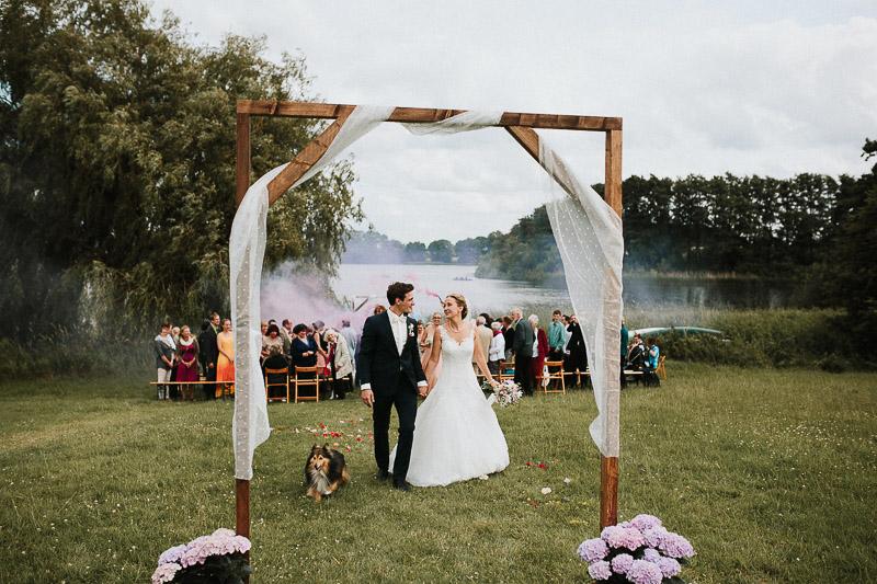 Freie Trauung Hochzeit bei Kiel Hof Brache