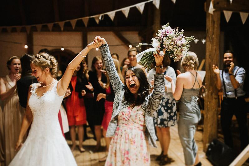 Brautstrauß Brautstraußwurf Hochzeitsfeier Kiel Hamburg